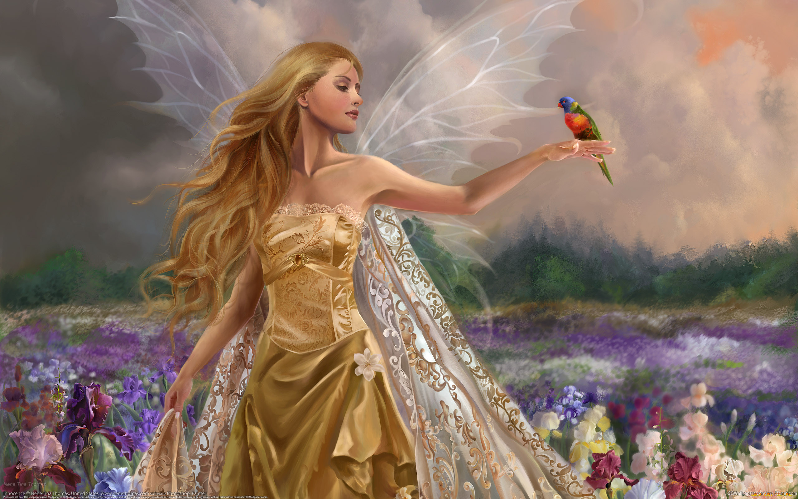 той технике фото фея ангел хорошего качества размещении саду